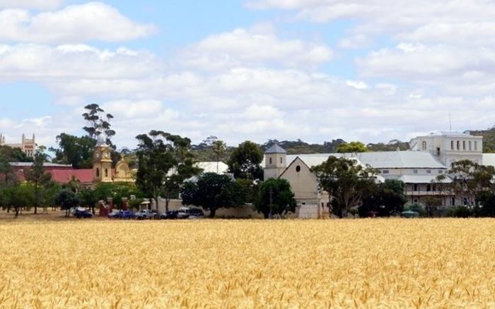 Australia's Only Monastic Town
