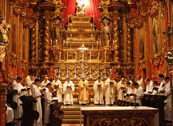 Benedictine Monastery Church-Rio-de-Janiero Brazil