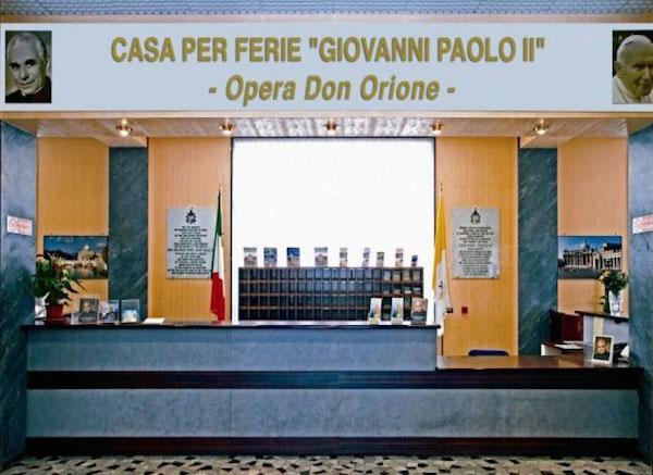 Casa per ferie Giovanni Paolo II Opera don Orione